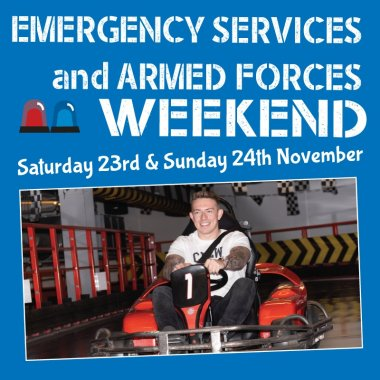 Emergency Services Weekend Mobile Image