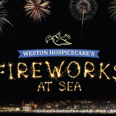 Weston Hospicecare Fireworks At Sea