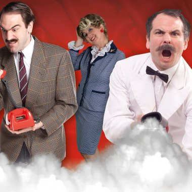 Cast Faulty Towers Suzanna Rob Leigh Landscape
