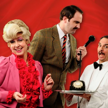 Cast Faulty Towers Suzanna Rob Leigh 8086