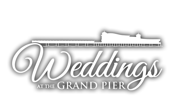 Weddings at the Grand Pier logo